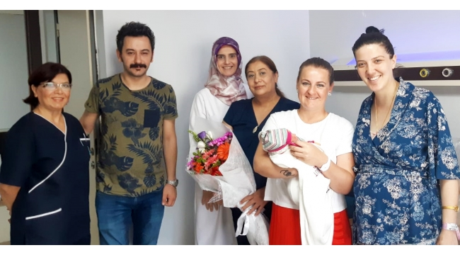 Egeumut'ta 5000'inci doğum kutlaması