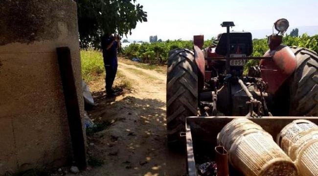 Eşi traktörle çarpan kadın yaşamını yitirdi