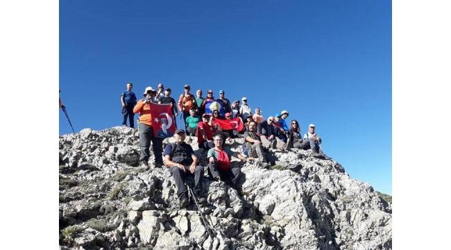 Turdak Gediz - Murat Dağı Tırmanışı gerçekleştirdi
