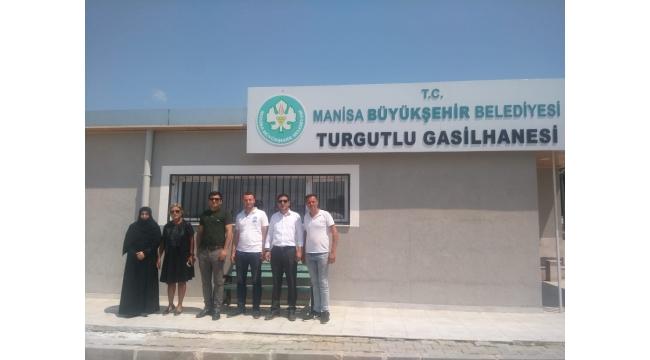 Gazeteci Yılmaz'ın dile getirdiği Turgutlu Gasilhanesi hizmete girdi