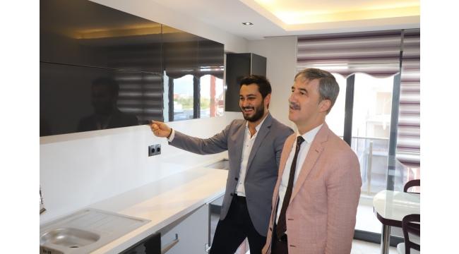 Başkan Şirin'den 'LifeCity Turgutlu'ya ziyaret