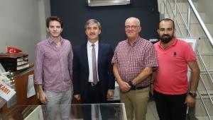 Başkan Şirin gazetemizin kuruluş yıldönümünü kutladı