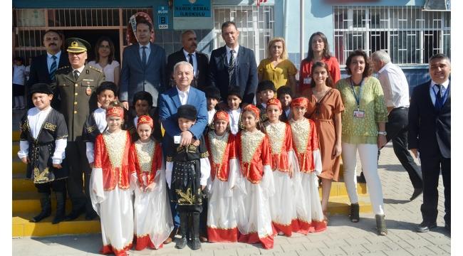 Turgutlu'da İlköğretim Haftası kutlamaları