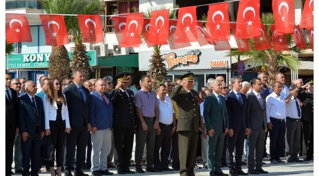 Turgutlu'nun kurtuluşunun 96'ncı yılı kutlandı