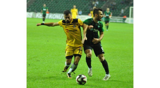 Turgutluspor'un tesellisi iyi futbol