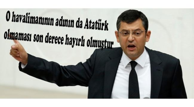 CHP'Lİ ÖZEL: