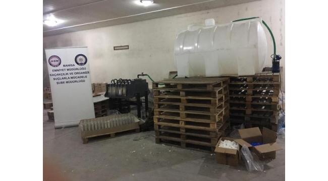 Kaçak içki imalatına 7 gözaltı