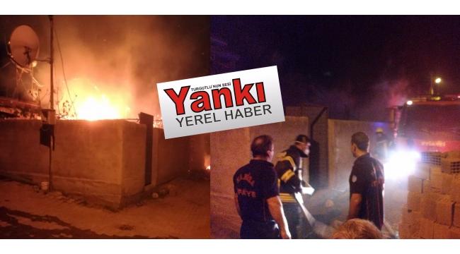 Osmancık'ta 2 ev yandı: 2 yaralı