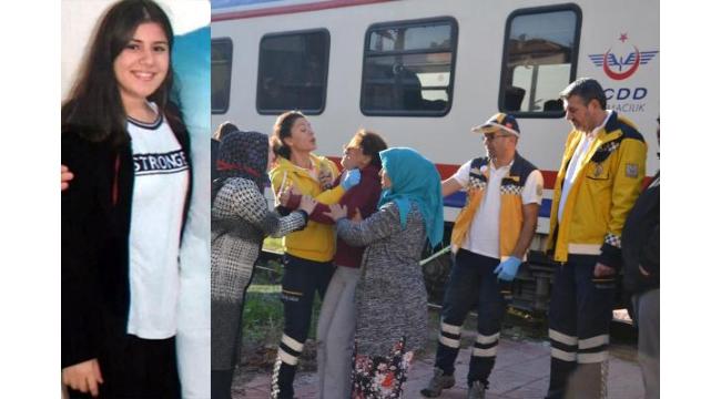 Tren çarpan liseli Sudenur öldü, annesi sinir krizi geçirdi