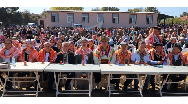 Turgutlu'da 2'nci Yörük Şenliği ilgi gördü