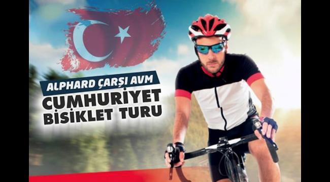 Turgutlu'da 'Cumhuriyet Bisiklet Turu' etkinliği