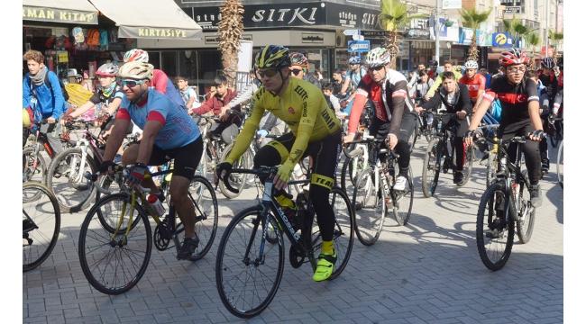 Turgutlu'da 'Cumhuriyet için pedalla' etkinliği