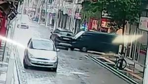 Bu kavşakta kaçıncı kaza? VİDEO