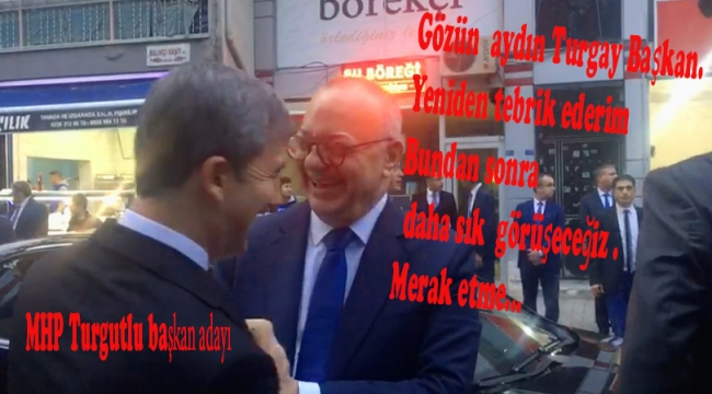 Büyükşehir Başkanı Ergün, Başkan Şirin'in adaylığını tebrik etti VİDEO