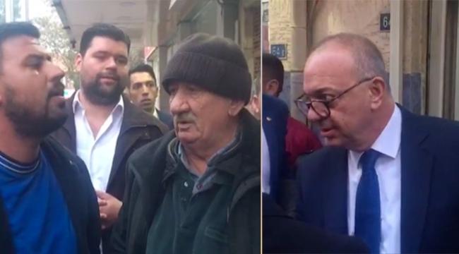 Büyükşehir Belediye Başkanı Ergun ile vatandaş tartışması kameraya yansıdı