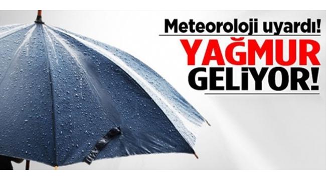 Manisa'nın Yağışlı Sistemin Etkisine Girmesi Bekleniyor!