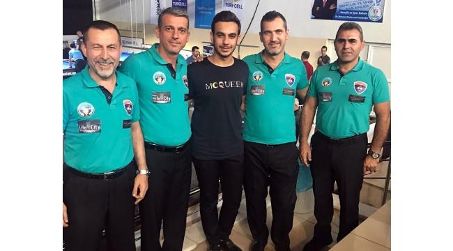 Turgutlulu bilardoculara 'LİFECİTY' desteği