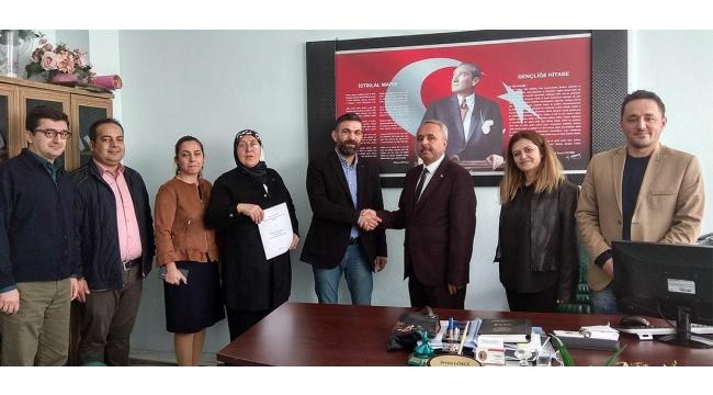 Zübeyde Hanım'dan mesleki eğitim iş birliği protokolü projesi