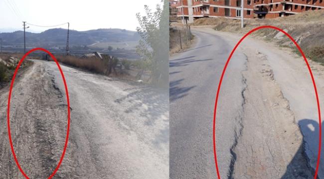 Belediye yapılan yolları paylaşıyor, ya yapılamayan yollar?