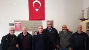CHP Turgutlu Teşkilatından muhtar ziyareti