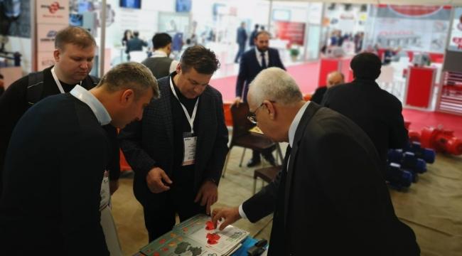 Ege Redüktör 2018 Plast Eurasia İstanbul Fuarı'nda