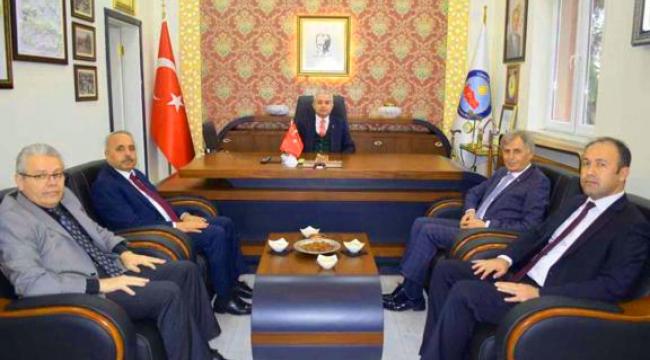 Manisa İl Milli Eğitim Müdürü İsmail Çetin Turgutlu'da