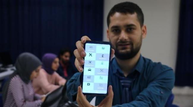Turgutlu Teknoloji Fakültesi öğrencisinin 'Akıllı Kasaba' uygulaması beğeni topladı