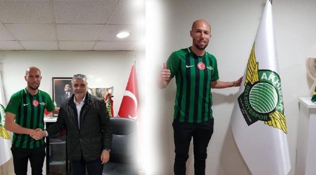 Akhisarspor'da Cocalic imzaladı