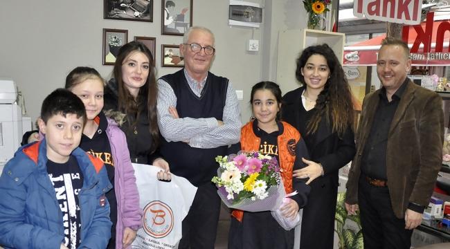 Bilgikent Koleji öğrencilerinden yerel basına anlamlı ziyaret