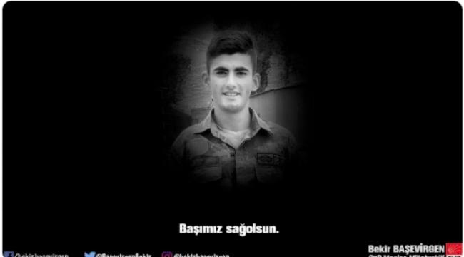 Hain saldırı için CHP'li Başevirgen'den başsağlığı mesajı