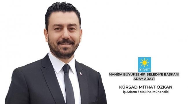 İYİ Parti'den Manisa'ya taze kan Kürşad Mithat Özkan