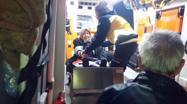 Turgutlu – Manisa yolunda kaza 3'ü çocuk 7 yaralı