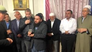 BBP Turgutlu Belediye Başkan Adayı Orhan hayır yemeğinde