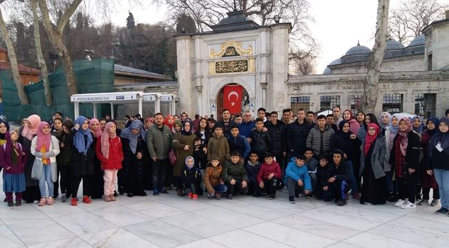 Ahmetli Anadolu İmam Hatip Lisesi İstanbul Gezisi düzenledi
