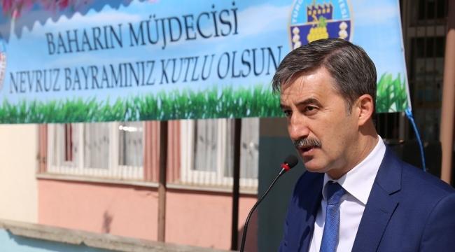 Şirin, Türk Dünyası'nın Bahar Bayramı olan Nevruz'u kutladı.