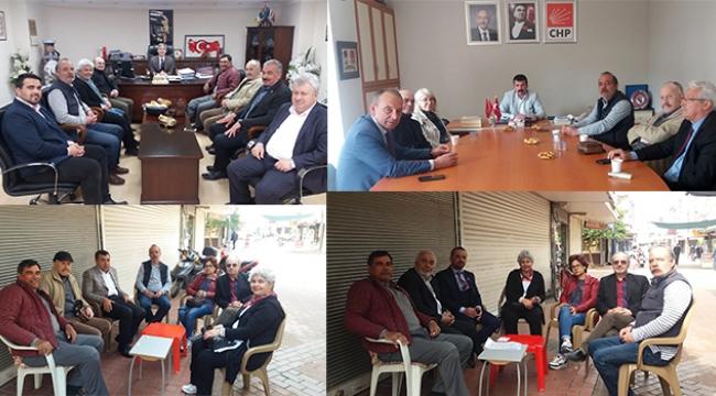 TURÇEP belediye başkan adaylarıyla görüştü