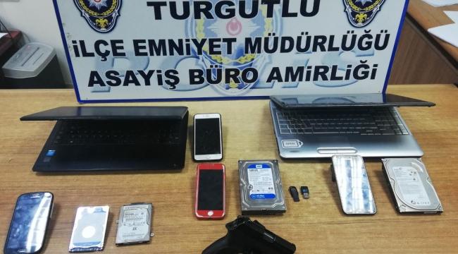 Turgutlu'da, internetten yasa dışı bahse darbe