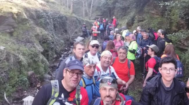 Zirve dağcıları kardeş kulüpleriyle Tire'de buluştu