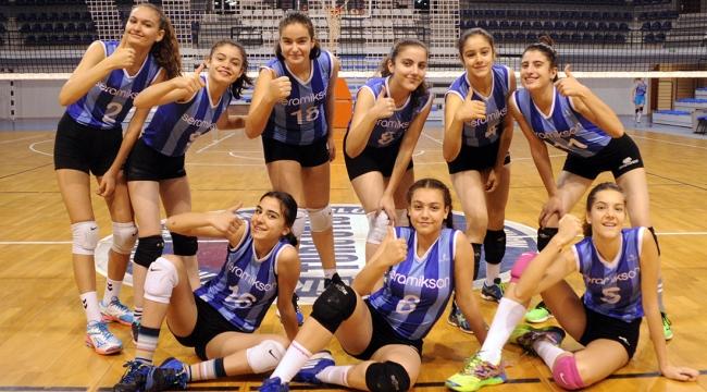 9 Seramiksanlı Manisa karmasıyla Türkiye finallerinde