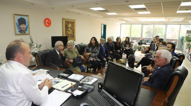 Avukatlardan Akın'a ziyaret