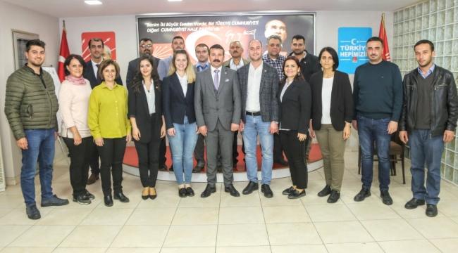 CHP İlçe Başkanı Eratıcı'dan teşekkür