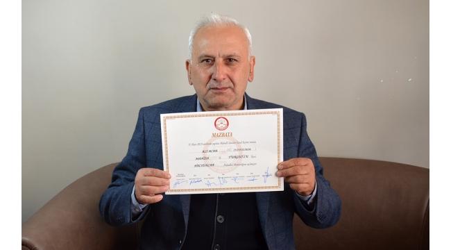 Hacıisalar Mahallesi'nin 20 yıllık muhtarı Ali Acar, 5. kez kazandı