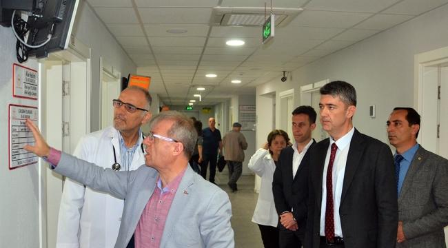 İl Sağlık Müdürü Dr. Yemenici Turgutlu'da