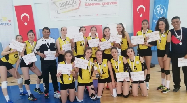 Manisa, Anadolu Yıldızlar Ligi'nde Türkiye üçüncüsü!