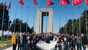 Şadi Turgutlu Ortaokulu öğrencileri Çanakkale ruhunu yaşadı