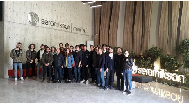 Seramiksan'a, Dokuz Eylül Üniversitesi öğrencilerinden ziyaret