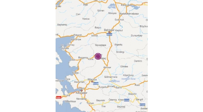 3.7 büyüklüğünde deprem