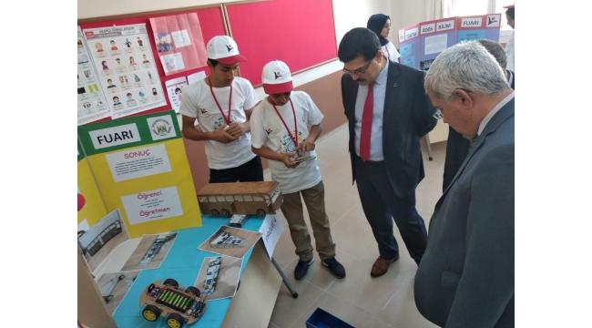 Ahmetli Çancılar İmam Hatip Ortaokulu Bilim Fuarı Etkinliği Düzenledi