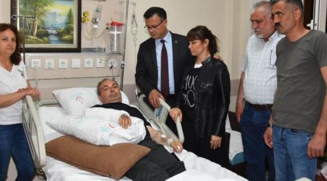 Başkan yardımcısını darp eden saldırganlar tutuklandı