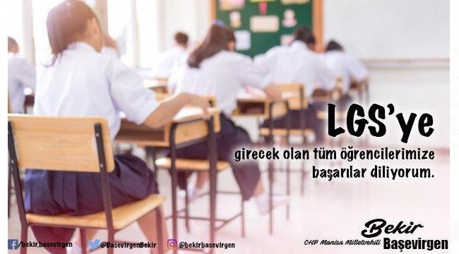 CHP'li vekil Başevirgen'den öğrencilere başarı temennisi